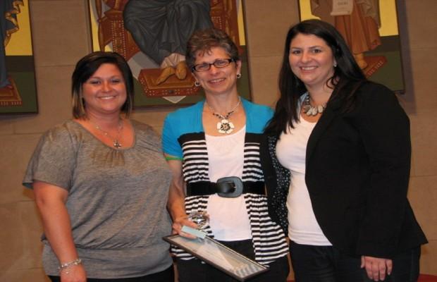 St. Agnes Teacher Receives Educator of the Year Award