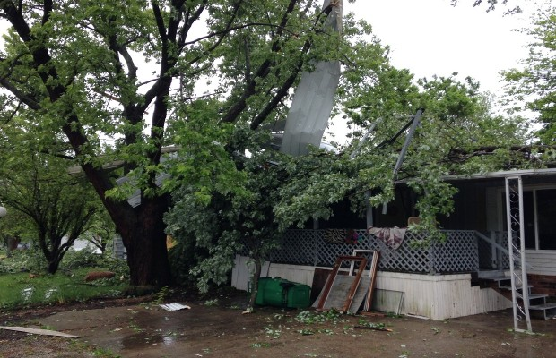Severe Weather, Microburst, Rips Through Springfield Area