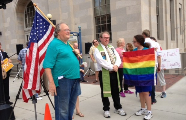 Marriage Equality Rally in Springfield