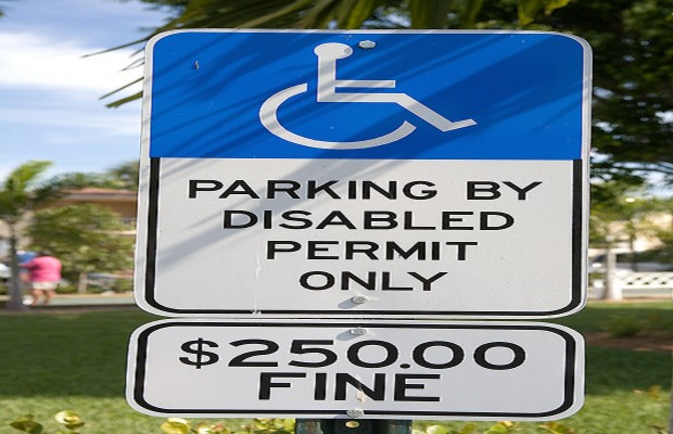 Parking Placard Help for the Disabled