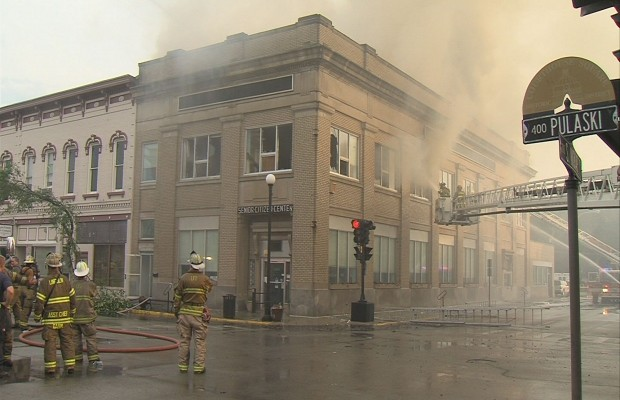 Fire Damages Lincoln Senior Center