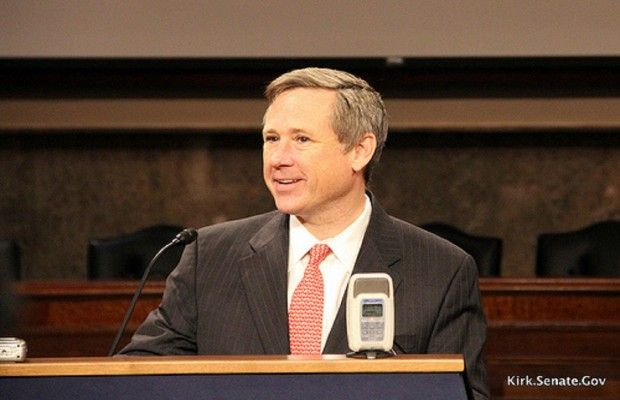 Mark Kirk Has A Change of Heart on Children Here After Crossing the Border