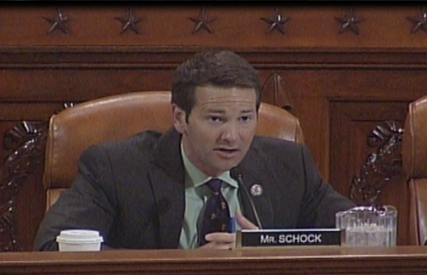 WTAX's Dave Dahl talks with U.S. Rep. Aaron Schock (R-Peoria)