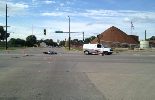 One Seriously Injured in Springfield Motorcycle Accident