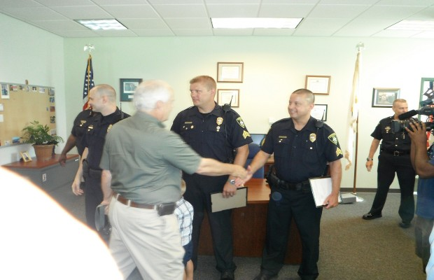 Three Cops Promoted