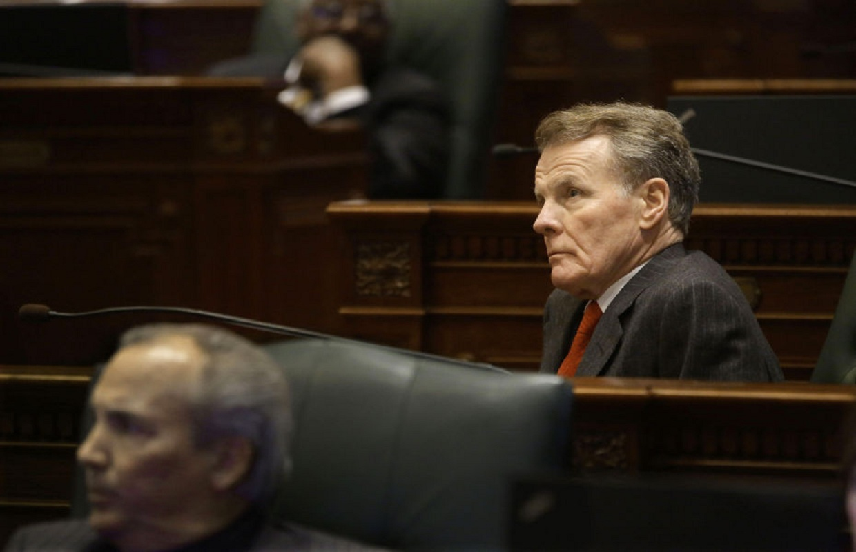 Madigan's Millionaires Tax Advances; Graduated Income Tax Fails