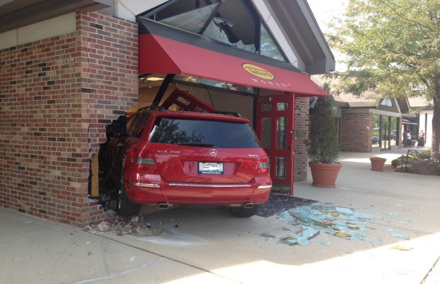 Car Crashes Into Springfield Store