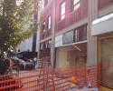 Progress on the Motor Inn. building in downtown Springfield. 8/2013