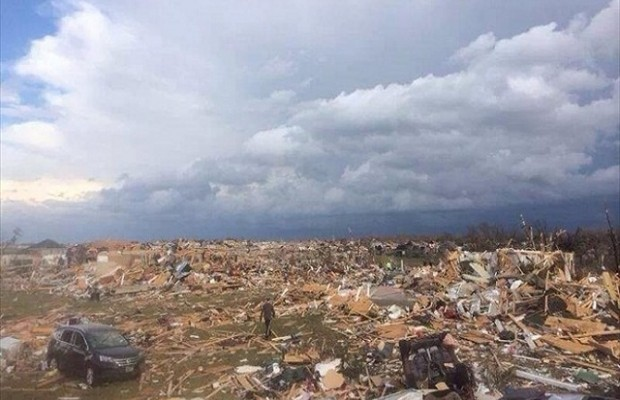 Durbin, Monken Tour Tornado Ravaged Washington