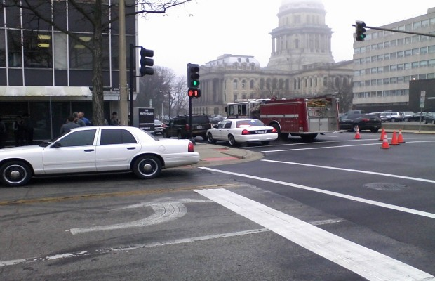 Suspicious Powder at Downtown State Office: Baby Powder