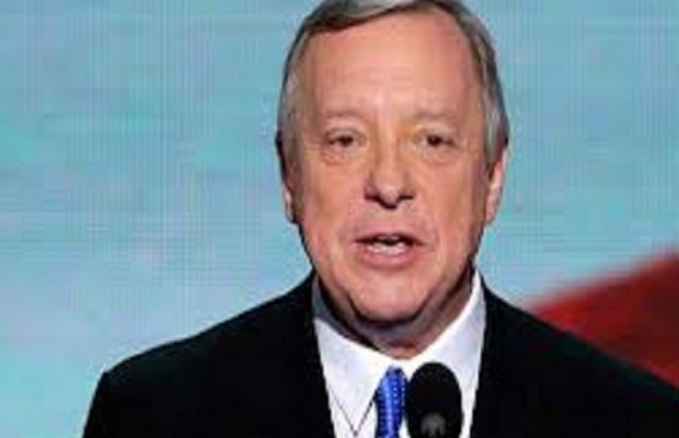 Durbin not Quick to Criticize Quinn