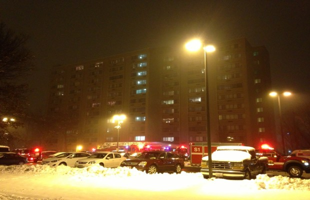 East Side Fire Kills One