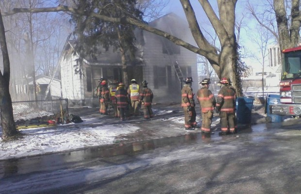 East Side Fire Displaces Family of Four