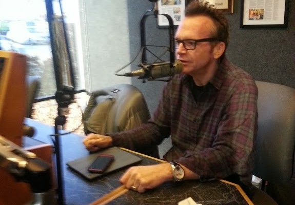Tom Arnold visits the Morning Newswatch
