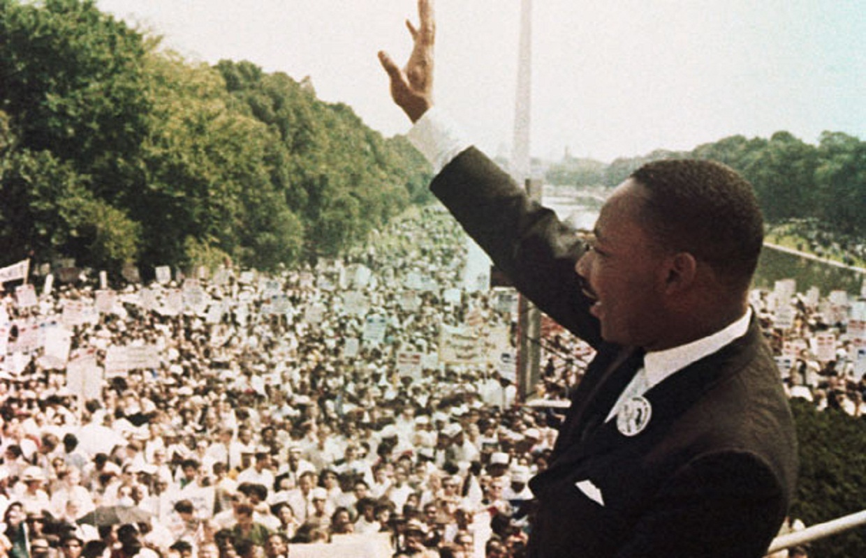 an analysis of march on washington address by martin luther king jr The analysis, based on current  or erased as institutions throughout the us celebrate martin luther king day,  significance of martin luther king jr [] tim.