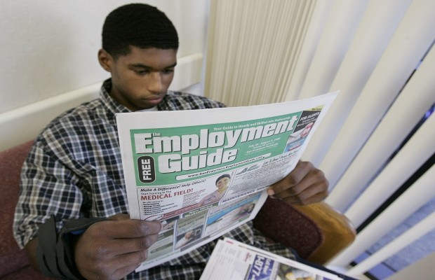 Job Numbers for Young Black Males Are Dismal