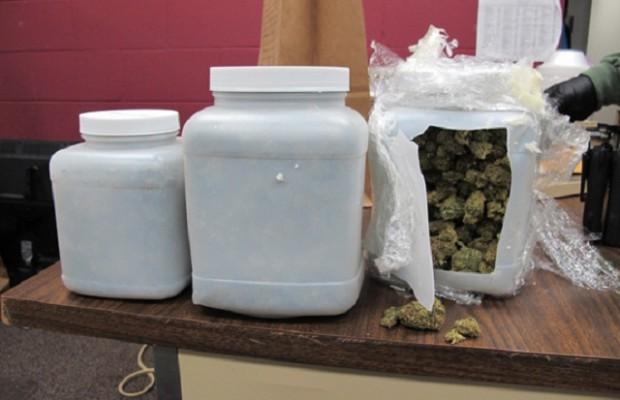 Deputies Seize Two Pounds of Marijuana