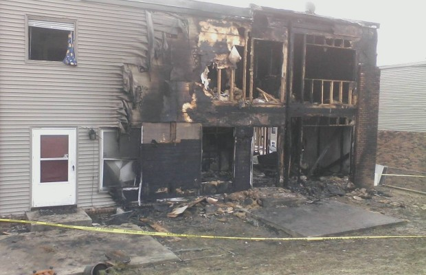 West Side Blaze Leaves Four Families Homeless