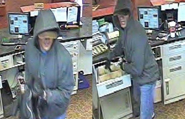 Auburn Bank Robbed, Suspect Being Sought