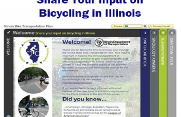 Illinois Promotes Bikes as Transportation