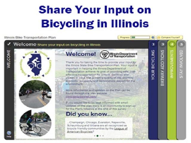 Illinois Promotes Bikes as Transportation