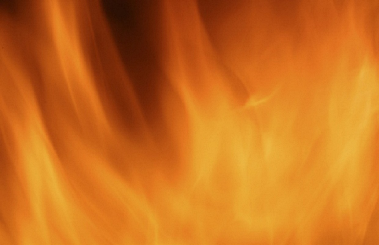 Fire Damages BBQ Stand