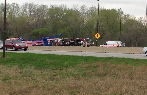 I-55 South Reopens After Fire Truck Rollover
