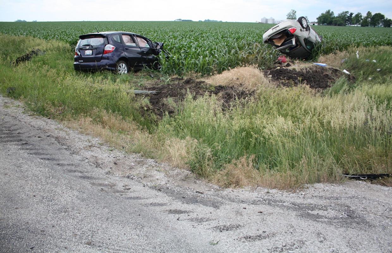 Mt. Auburn Woman Dies in Car Crash