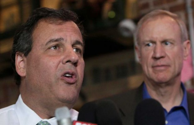 Christie Campaigning for Rauner in Chicago