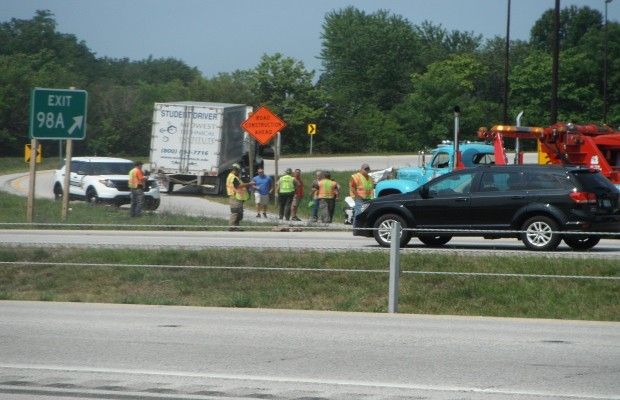 Accident at Clear Lake and I-55 Sends Four to Hospital