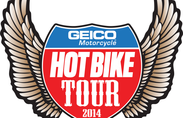 GEICO Hot Bike Tour in Springfield Monday