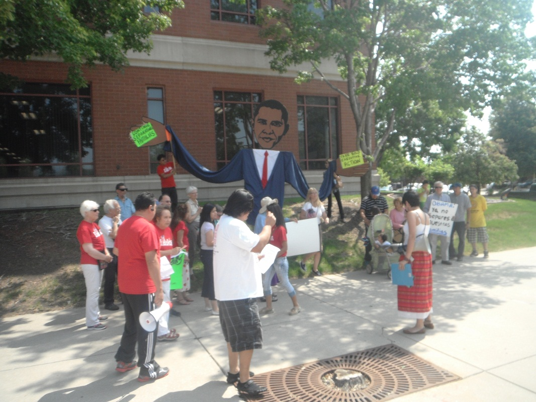 Immigration Reform Advocates Rally in Springfield
