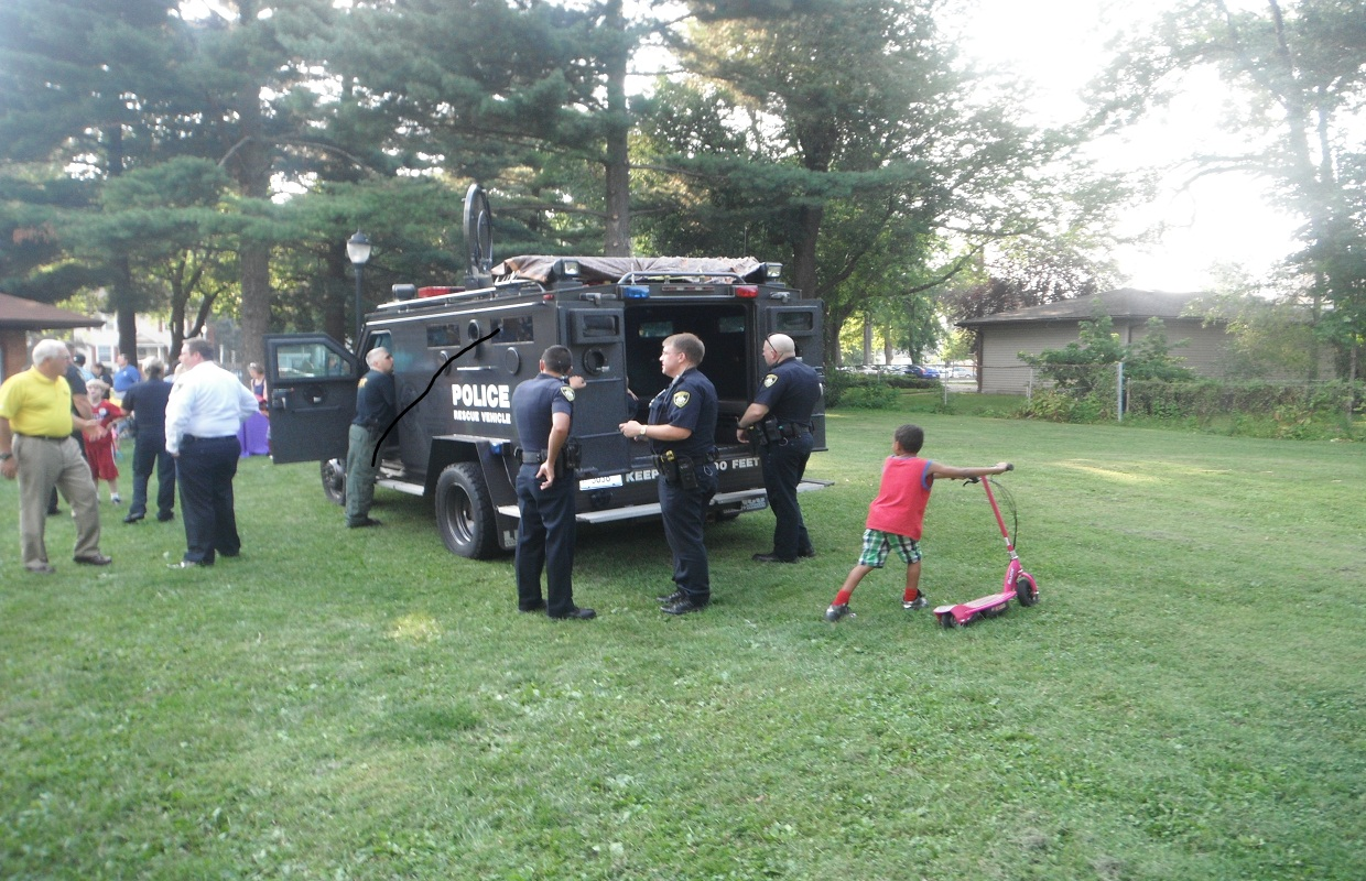 Cops and Kids – A Winning Combination on National Night Out