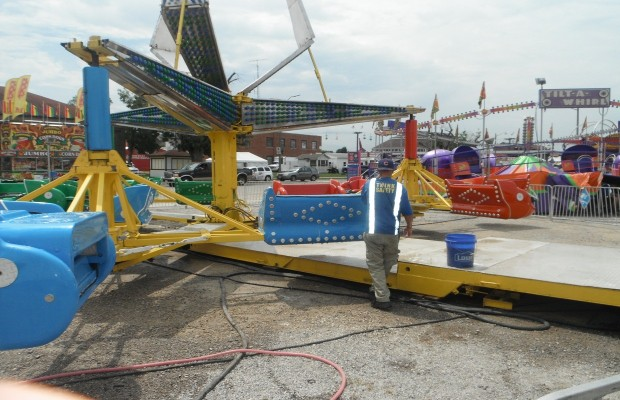 Ride Inspections Underway at Illinois State Fairgrounds