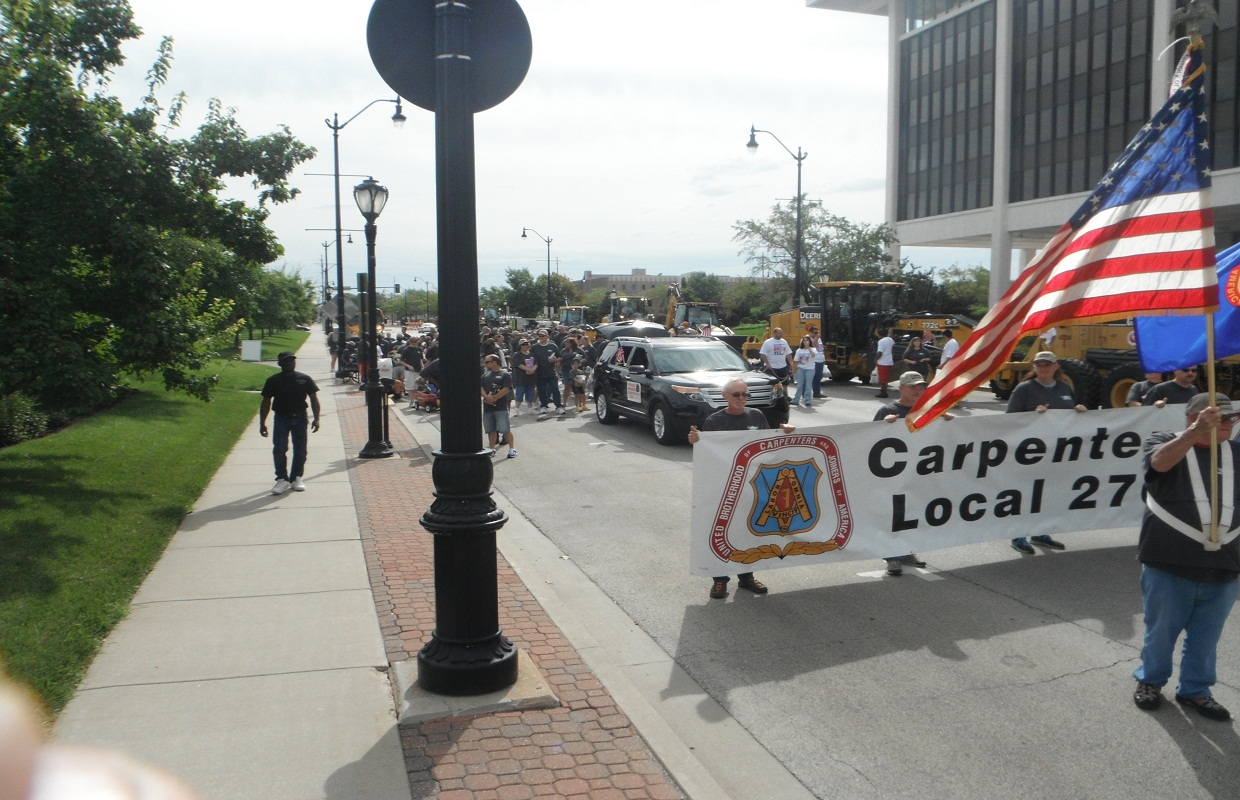 Workers Mark Labor Day with Annual Parade