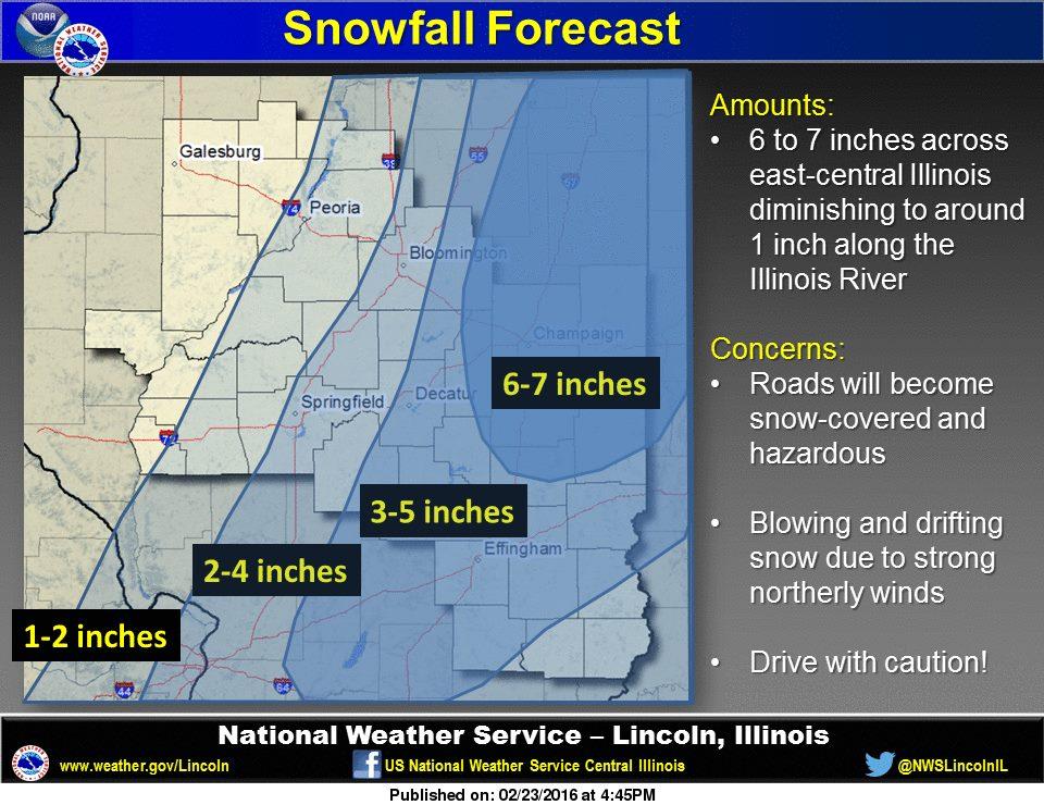 Winter Storm Warning Includes Springfield, Despite 13  ~ Wand Tv Weather School Closings