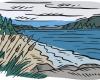 lake clip art
